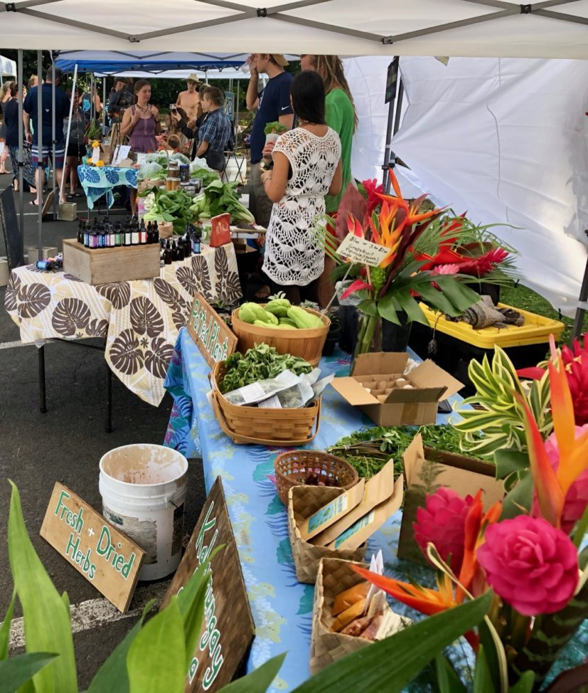 Hana Farmers Market launched!