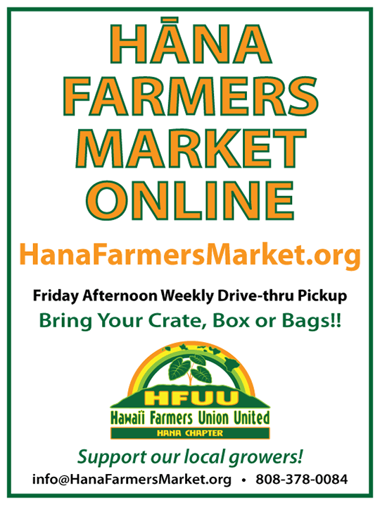 Hana Farmers Market Online Launch!