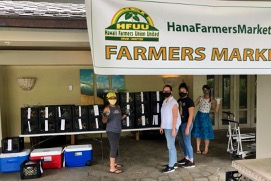 Second successful pickup for Hana Farmers Market Online