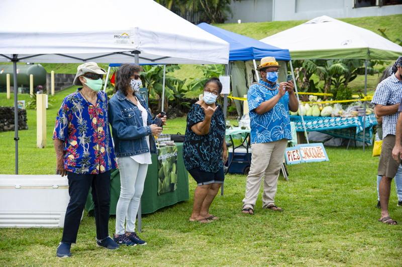 Vendors Microgreens Heal and Kipahulu Ohana
