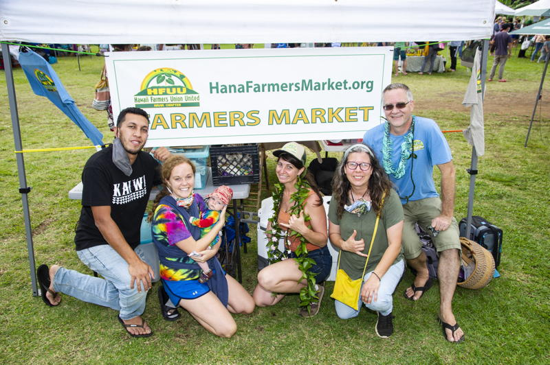 Hana Farmers Market in the Hanaside News